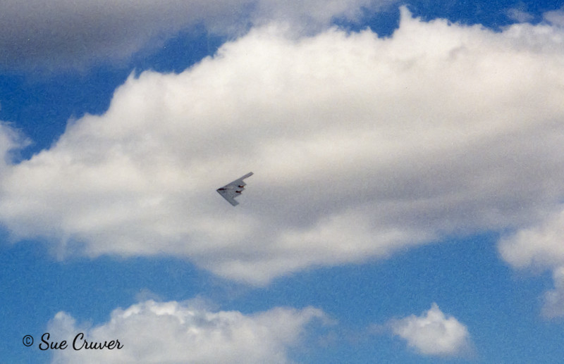 Stealth Bomber Fly-by