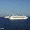 Cruise Ships Out ot Sea