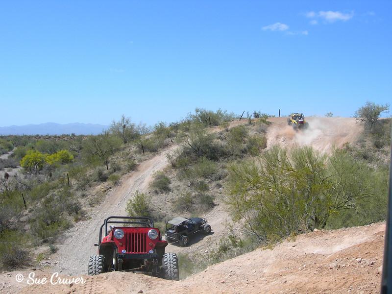 Climbing Jeeps