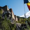 Poenari citadel, a castle of Vlad III Tepes (the Impaler), alias Vlad Dracul