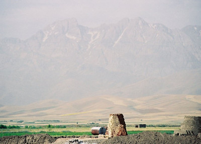 BRICK FACTORY & MOUNTAINS OF WHEAT Iran