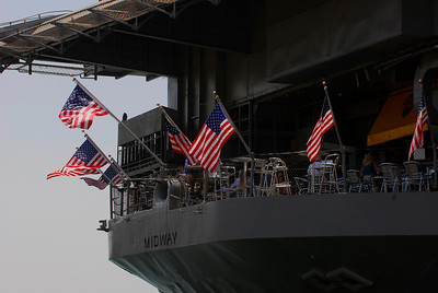 Visitor's Day on the USS Midway