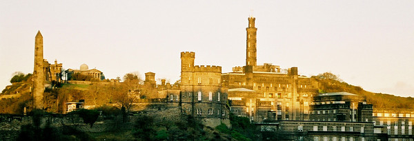 Calton Hill as seen from Northbridge Road.