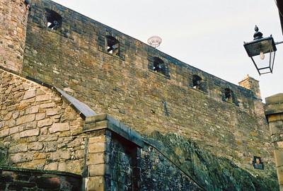 LINE OF DEFENSE Edinburgh Castle Cannons Edinburgh, Scotland