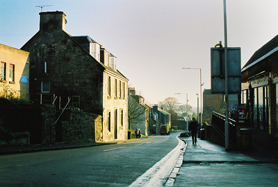 The quaintness of Dunfermline, formerly the capital of Scotland prior to Edinburgh.
