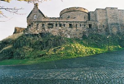 INNER ROAD Edinburgh Castle, Scotland