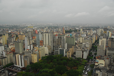"The trees below are at ""Praça da Republica"" and the large avenue beside it is called ""Avenida Ipiranga"""