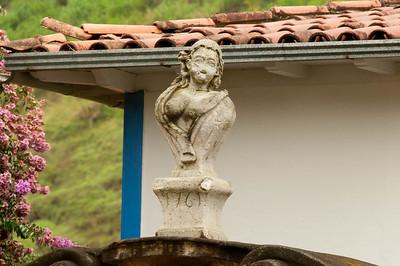 Sculpture by Aleijadinho  http://en.wikipedia.org/wiki/Aleijadinho