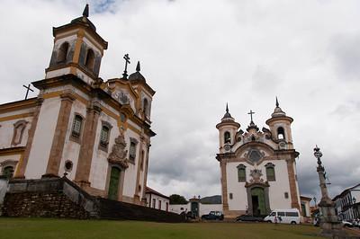 Igreja de Sao Francisco de Assis and Igreja da Nossa Senhora do Carmo