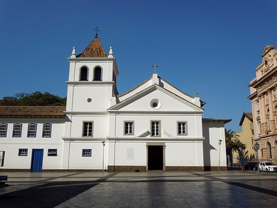 Pateo do Colegio, The place where the city of Sao Paulo Started as a Jesuit School in 1554, but it only became a city in 1711.