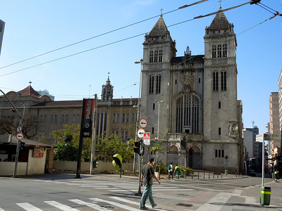 Mosteiro Sao Bento, There is also a school on the left, which which is still in use. I used to come here once a week in the evenings for free Organ Concerts! (In High School)