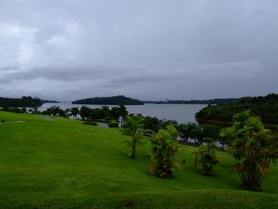 View of the Guarapiranga water reservoir