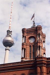 Rotes Rathaus / Fernsehturm