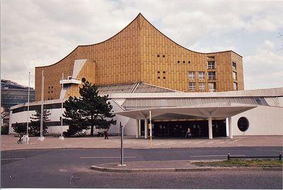 Philharmonie Berlin Philharmonic Hall Hans Scharoum