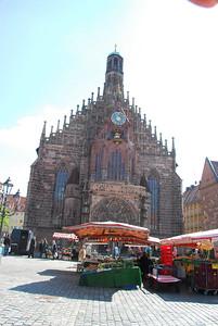 Frauernkirche at Hauptmarkt Nurenberg