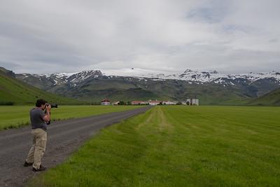 Eyjafjallajökull Volcano site