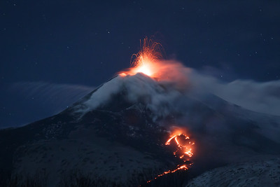 Mt. Etna's Red Rain
