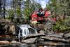 Mill Shoal Falls - Pisgah National Forest - North Carolina