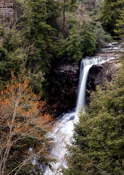 Piney Falls - Fall Creek Falls State Park  -  Tennessee