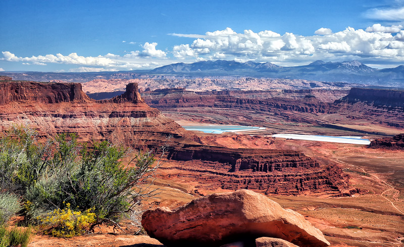 Dead Horse Point State Park - Potash Evaporation Ponds - Moab, Utah - Sept 2014