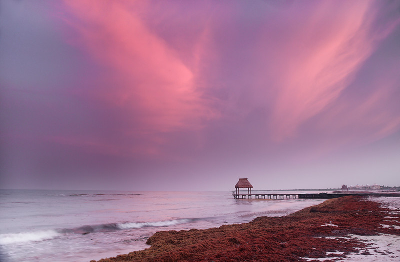 Angels Wings Pier - Playa Del Carmen, Mexico - Summer 2015