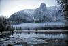Senital Rock and Falls - Yosemite National Park - Winter Feb 2017