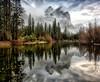 Three Brothers - Yosemite National Park - California - Winter