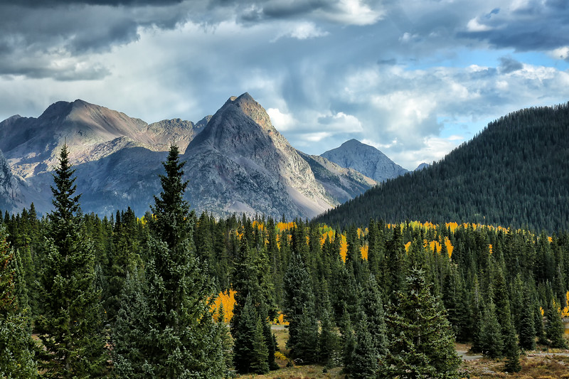 Cathedral to the Heavens - Million Dollar Highway - Durango, Colorado - Sept 2014