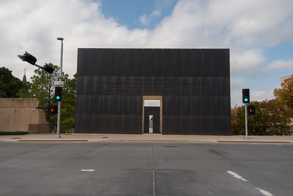 OKLAHOMA CITY NATIONAL MEMORIAL - 04 NOV 2015
