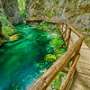 Vintogar Gorge Trail in Slovenian Alps