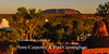Uluru sunset with champagne supper!