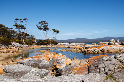 Binalong Bay, at the southern end of the Bay of Fires