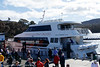Ready to board the Wineglass Bay cruise.