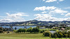 View from our Moon River self-catering unit at Gardners Bay near Cygnet.