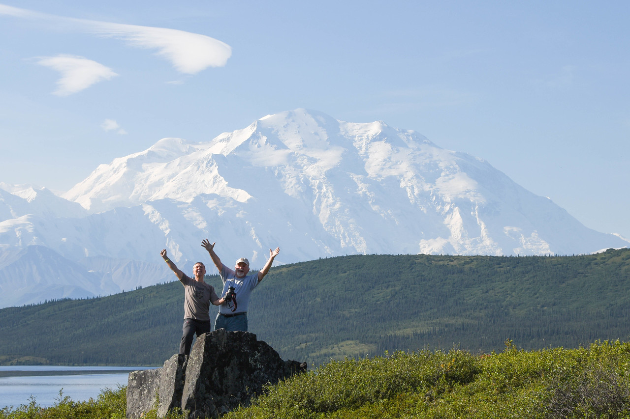 Chris, Howard, and of course, MT. DENALI