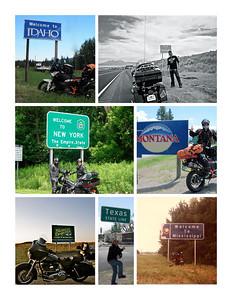 State borders USA