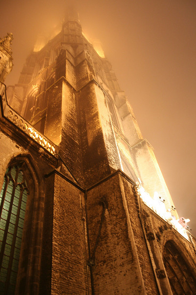 Misty Church (Gent, Belgium)