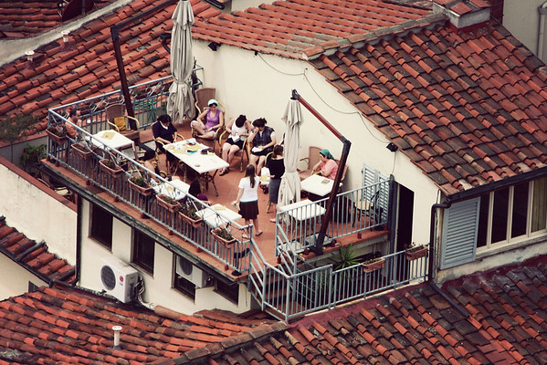 Florence summer afternoon