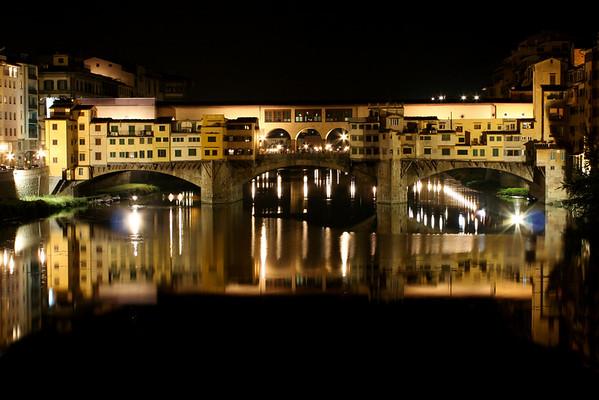 Bridge over Arno river in Florence