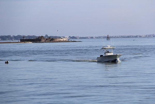 Castle Pinckney; Charleston Harbor, SC
