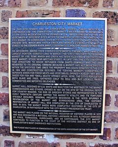 CHARLESTON CITY MARKET; A National Historic Landmark
