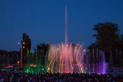 Fountain lightshow