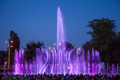 Fountain light show