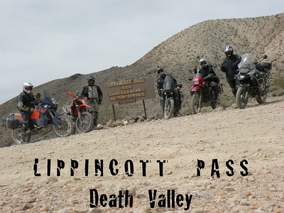 Lippencott Pass 4X4 ONLY out of Death Valley into Saline Valley.
