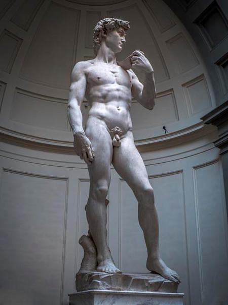 011 - Michelangelo's David - Florence