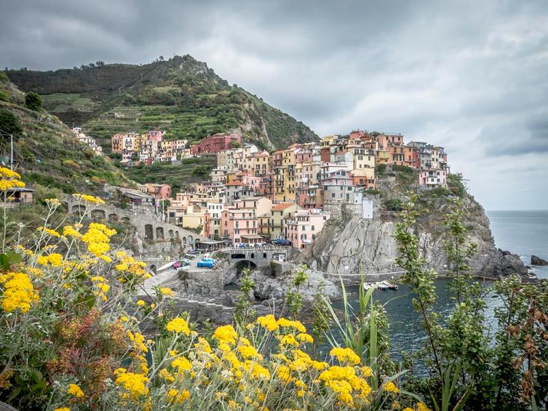 019 - Cinque Terre - Village of Manarola