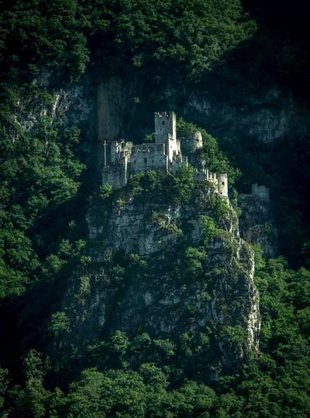 026 - Castle on mountainside near Bolzano