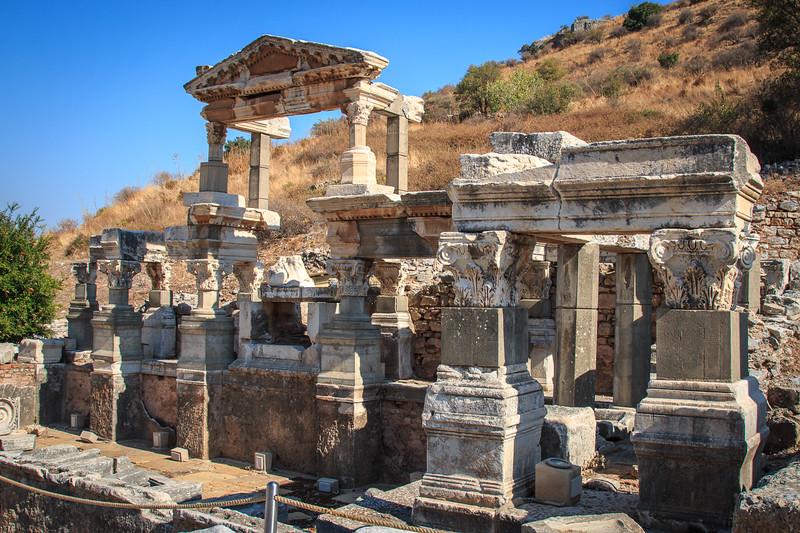 144 - Ephesus - Nymphaeum of Trajan - 102-114 AD