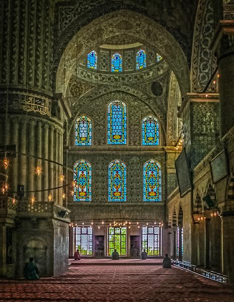 168 - Praying toward Mecca - Istanbul