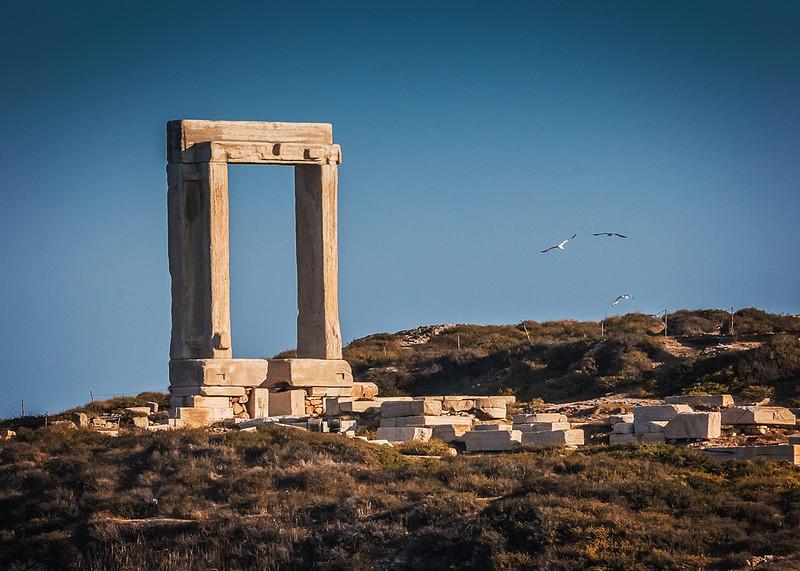 112 - Naxos - Apollo's temple entrance